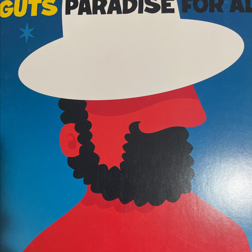 Guts - Paradise For All ( 1st  2012 pressing with poster - NM)
