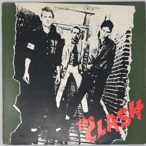The Clash -  S/T (Early UK NM/VG+)