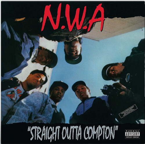 N.W.A - Straight Outta Compton (Red Vinyl)
