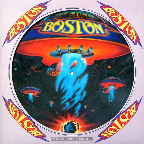 Boston S/T picture-disc - Sealed