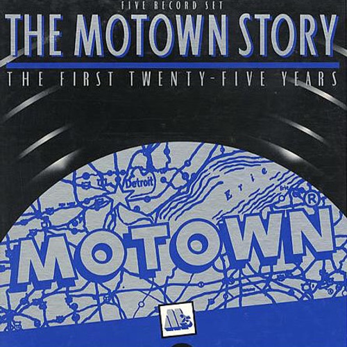 Various - The Motown Story:  The First Twenty-Five Years - 5 LP set