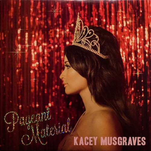Kacey Musgraves - Pageant Material (Pink Marbled Vinyl)