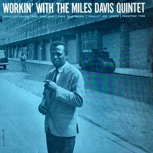 The Miles Davis Quintet - Workin' With The Miles Davis Quintet (1964 Blue Trident VG+)