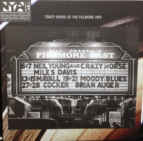 Neil Young & Crazy Horse - Live At The Fillmore East (180g Audiophile Pressing)