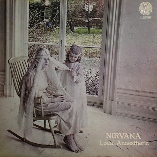 Nirvana - Local Anaesthetic ( UK  1st Swirl label with Inner)