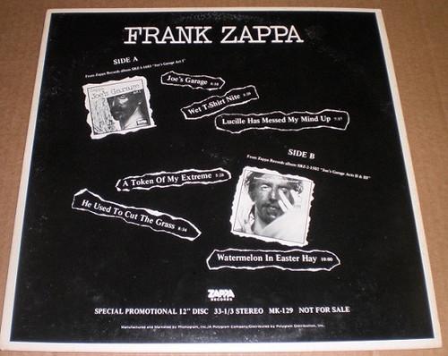 Frank Zappa - Frank Zappa (Promo Sampler)