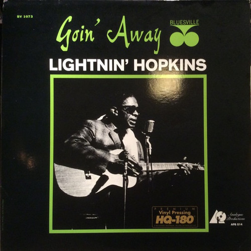 Lightnin' Hopkins - Goin' Away (Analogue Productions Limited Edition numbered )