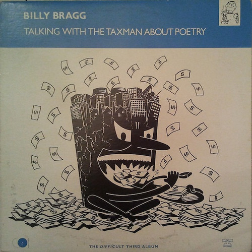 Billy Bragg - Talking With The Taxman About Poetry (VG+ comes with original Inner)