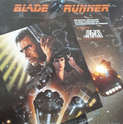 The New American Orchestra - Blade Runner ( Vinyl is VG+)