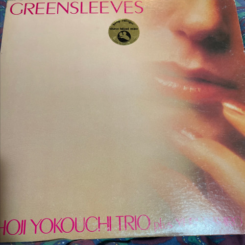 Shoji Yokouchi Trio - Greensleeves ( Three Blind Mice with Insert VG+)