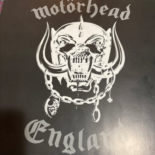Motörhead - England ( Limited Edition to 1000 , coloured vinyl, VG+)