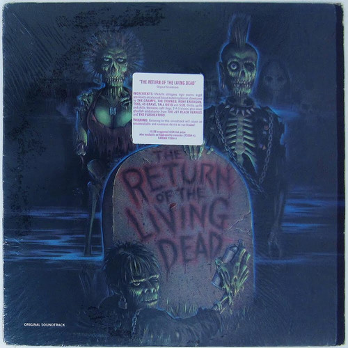 Various - Return of the Living Dead Soundtrack (In Shrink with Hype Sticker)