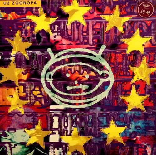 U2 - Zooropa ( Original 1993 NM/NM)