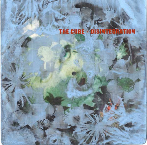 The Cure - Disintegration ( Rare UK picture sleeve VG+)