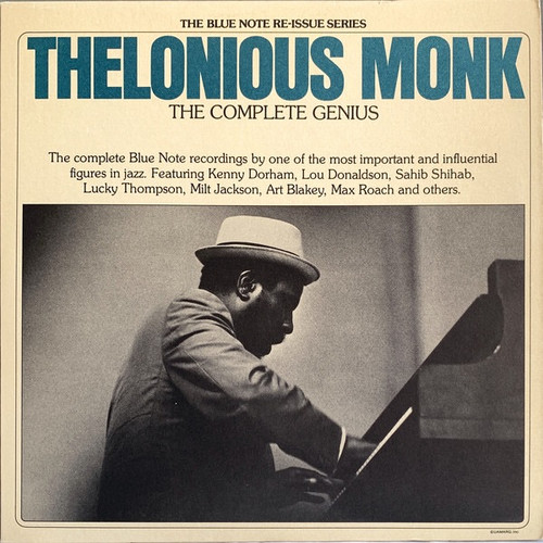Thelonious Monk - The Complete Genius  ( 2LP  are both  NM)