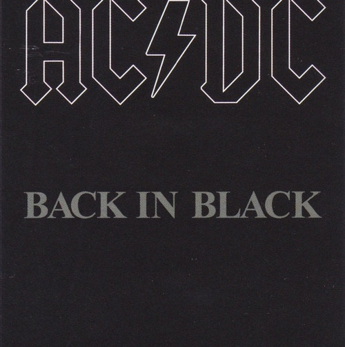 AC/DC - Back In Black (Cassette)