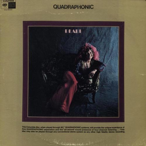 Janis Joplin - Pearl (Quadraphonic pressing)