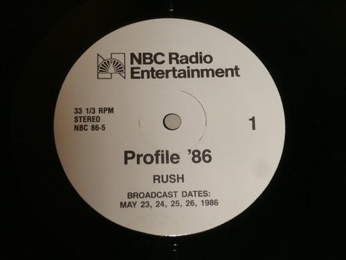 Rush - Profile '86. - NBC Radio Promo
