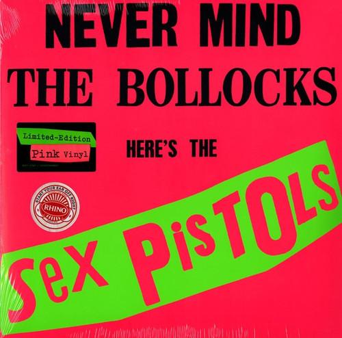 Sex Pistols - Never Mind The Bollocks Here's The Sex Pistols. ( Pink Vinyl)