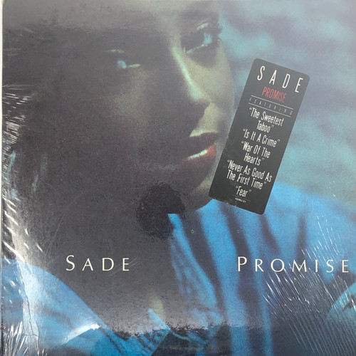 Sade -  Promise (US 1st Pressing in Open Seal with Hype Sticker)