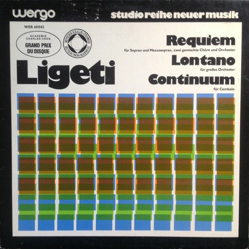 György Ligeti - Requiem / Lontano / Continuum
