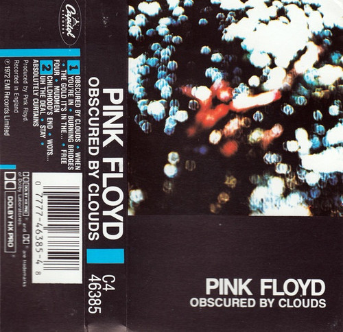Pink Floyd - Obscured By Clouds ( Cassette )