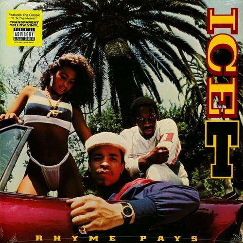 Ice T - Rhyme Pays (RSD 2020 Yellow Vinyl)