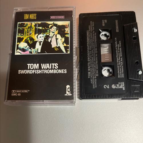 Tom Waits Swordfishtrombones - Cassette