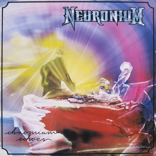 Chromium Echoes - Neuronium ( Gatefold- Cut corner - vinyl NM)