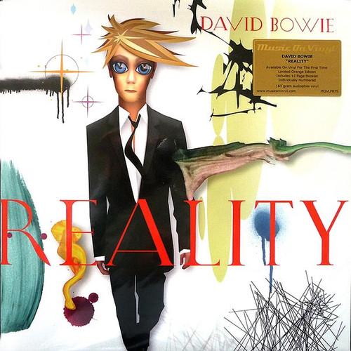 David Bowie - Reality ( Orange Vinyl - numbered MOV)