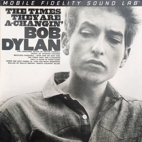 Bob Dylan - The Times They Are A-Changin' ( MoFi numbered)