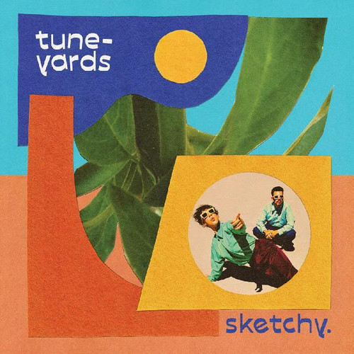 Tune-Yards - Sketchy. (Limited Edition Blue Vinyl)