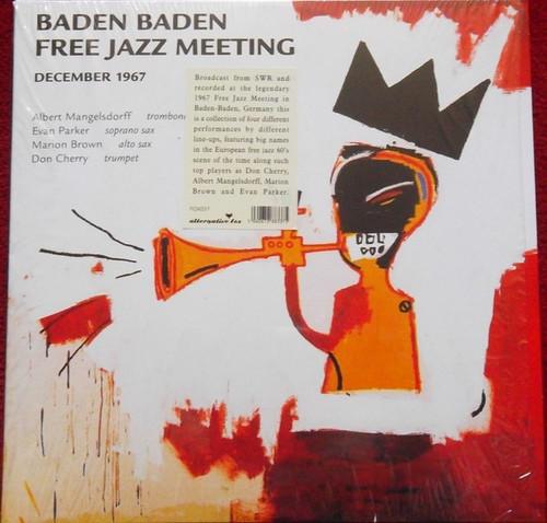 Albert Mangelsdorff - Baden Baden Free Jazz Meeting December 1967