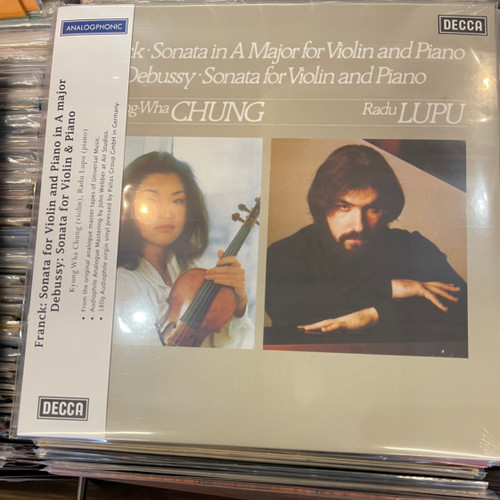 Kyung-Wha Chung - Sonata For Violin & Piano In A Major / Sonata For Violin & Piano