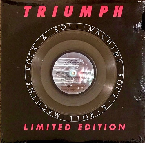 Triumph - Rock & Roll Machine ( NM in shrink)