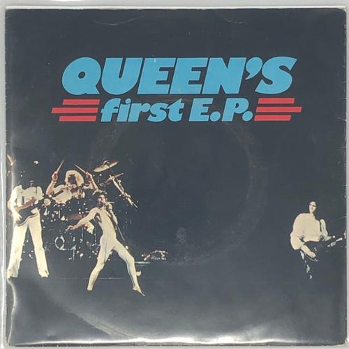 """Queen - Queen's First EP (1977 UK 7"""" EP)"""