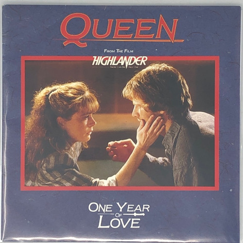 """Queen - One Year of Love (France 7"""" Single)"""