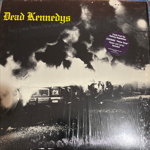 Dead Kennedys - Fresh Fruit For Rotting Vegetables (1st US pressing in shrink with hype sticker and poster)