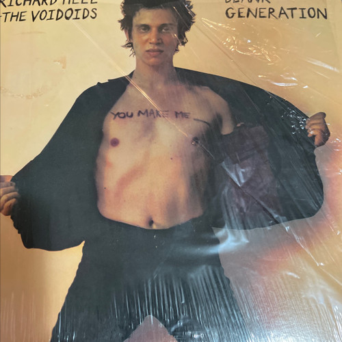 Richard Hell & The Voidoids - Blank Generation ( 1st USA pressing in shrink NM)