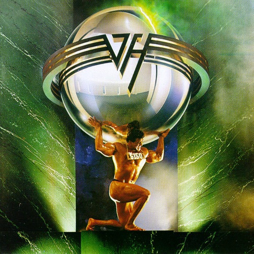 Van Halen - 5150 ( original pressing in original shrink with hype sticker)