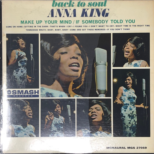 Anna King - Back to Soul (US Mono 1964)
