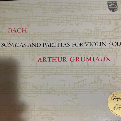 Johann Sebastian Bach - 6 Sonatas & Partitas For Violin Solo