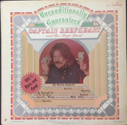 Captain Beefheart - Unconditionally Guaranteed ( Original 1974 Canadian pressing)