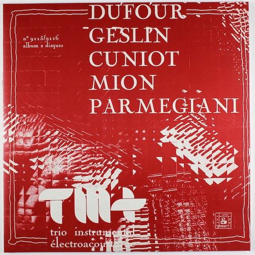 Various - Trio Instrumental Électroacoustique (. 2 LP with booklets)