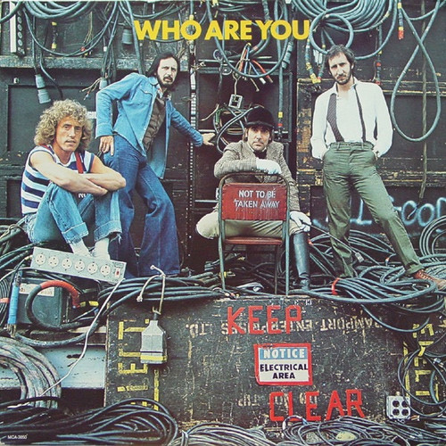 The Who - Who Are You ( Red Vinyl -Canada)