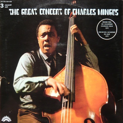 Charles Mingus - The Great Concert Of Charles Mingus ( 3 LPS in NM condition)
