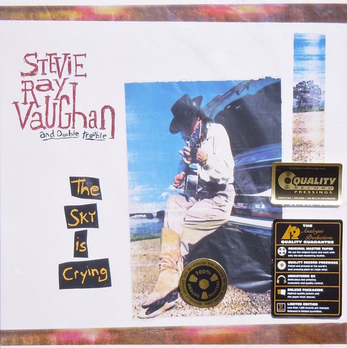 Stevie Ray Vaughan & Double Trouble - The Sky Is Crying ( Analogue Productions - 200g )
