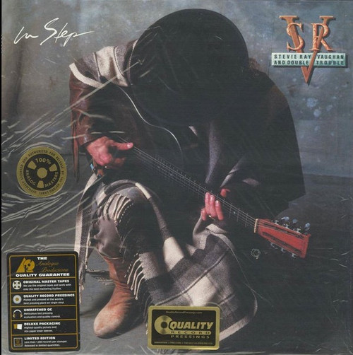 Stevie Ray Vaughan & Double Trouble - In Step ( Analogue Productions -200g)