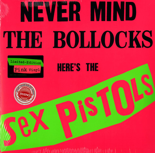 Sex Pistols - Never Mind The Bollocks (Rhino reissue, pink vinyl)