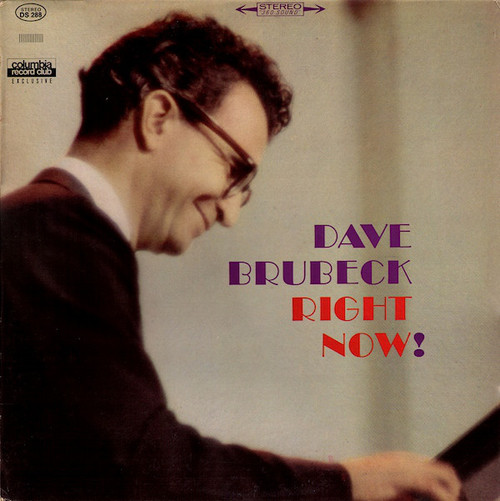 Dave Brubeck - Right Now! (Columbia Records Club)